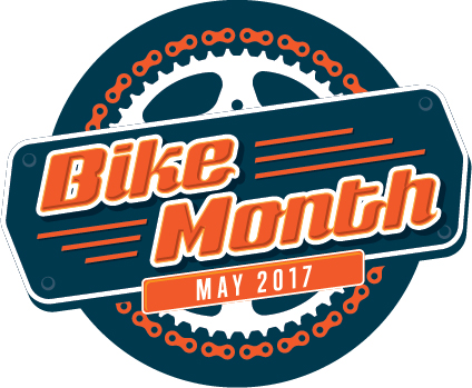 Bike Month 2017 logo