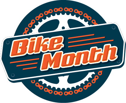 Bike Month 2018 logo