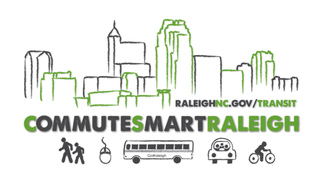 CommuteSmart Raleigh logo