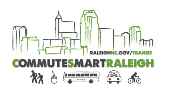 CommuteSmart Raleigh logo