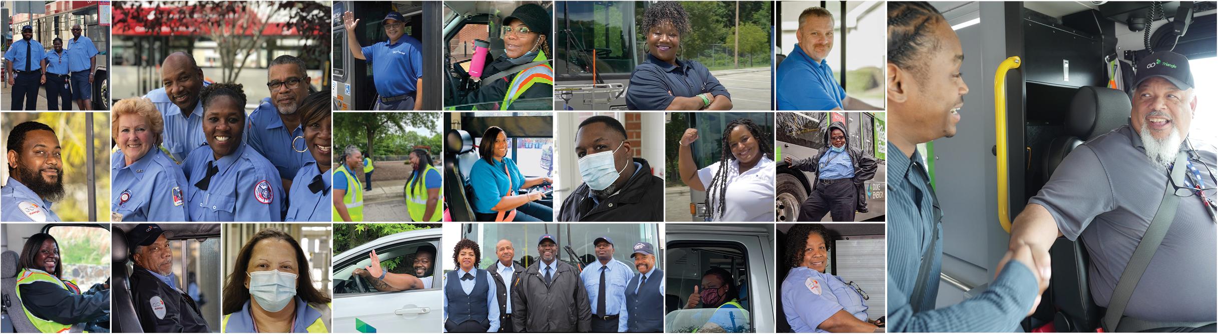 Transit Operators Collage