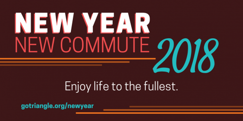 new year new commute graphic