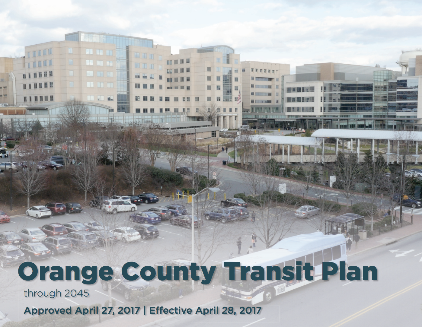 Orange County Transit Plan screenshot