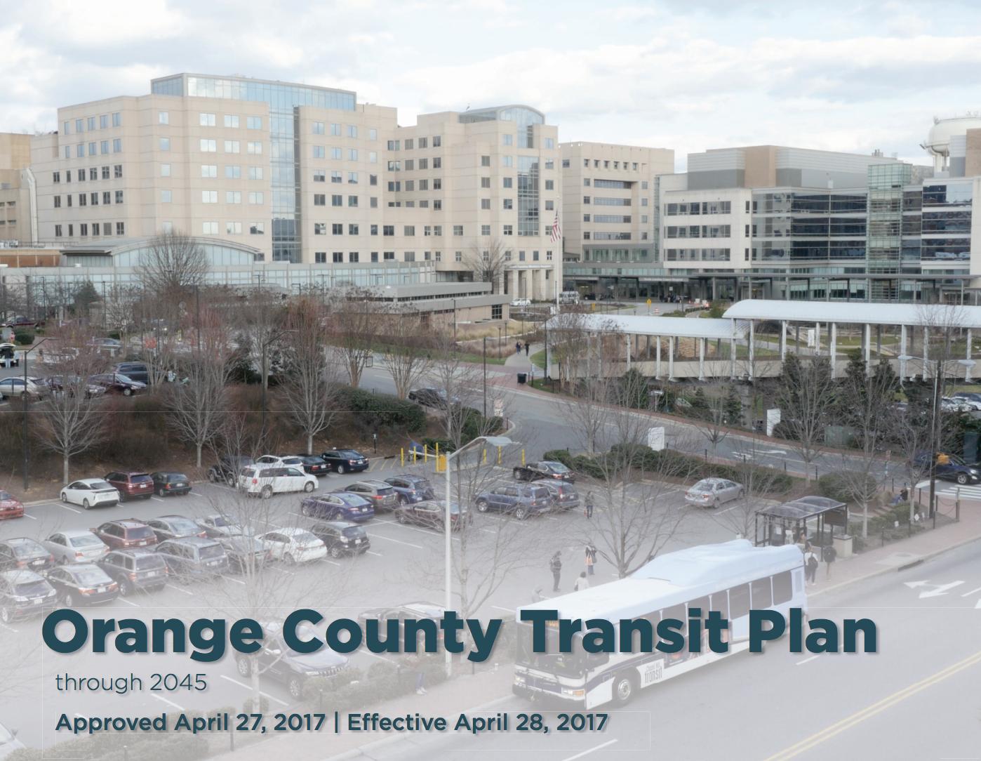 Orange County Transit Plan screenshot