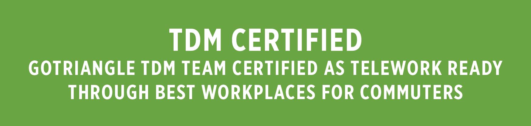 Telework Certification