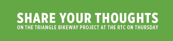 Triangle Bikeway Survey Thumbnail